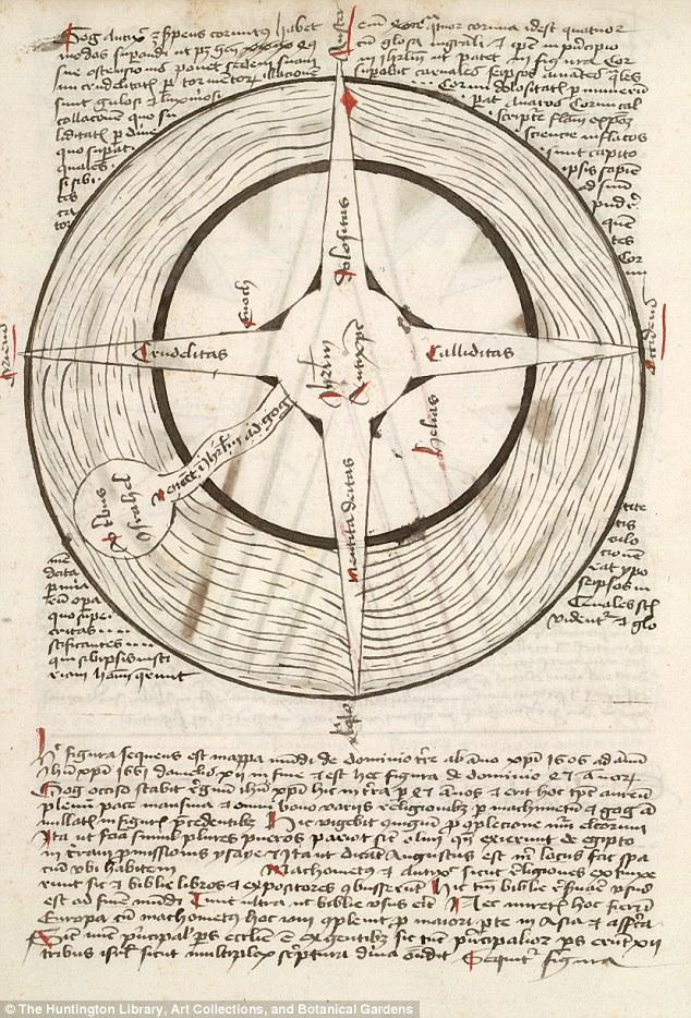 """Arqueologia: """"Mapa do Inferno"""" encontrado no século 15 fez previsões terríveis para a humanidade"""
