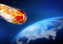 asteroide-caindo-na-Terra