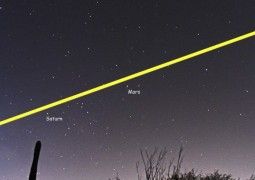 alinhamento-de-cinco-planetas-do-Sistema-Solar-no-horizonte