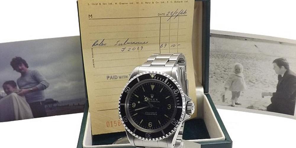 dcca4e60a69 Rolex comprado há 50 anos por £ 69 é vendido por mais de £ 100.000