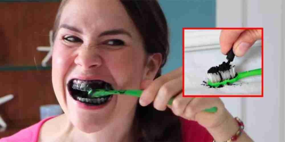 Carvao Vegetal Realmente Clareia Os Dentes