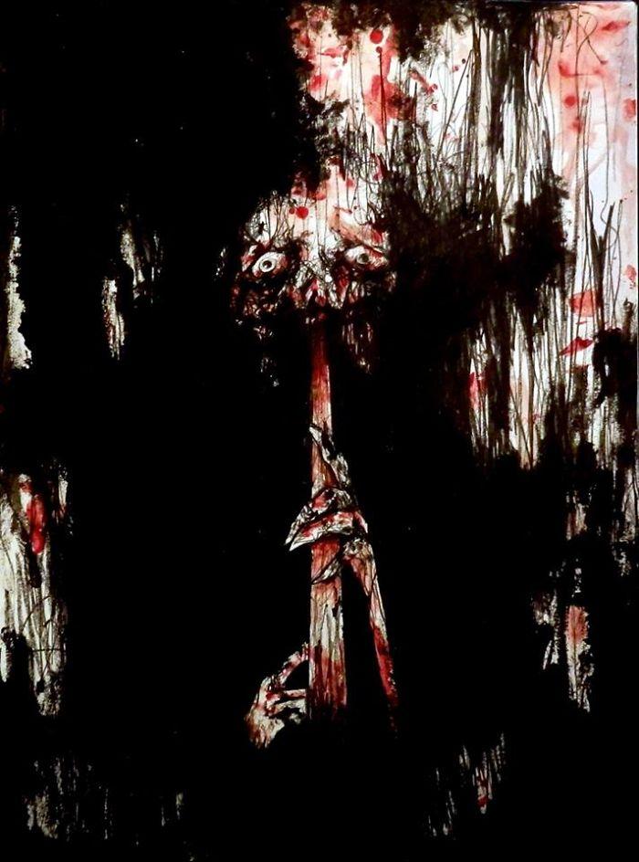 artista-recria-seus-pesadelos-usando-sangue_2