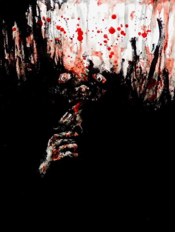 artista-recria-seus-pesadelos-usando-sangue_5