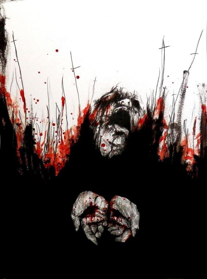 artista-recria-seus-pesadelos-usando-sangue_6