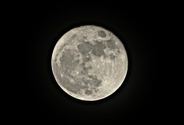 Supermoon, UK - 14 Dec 2016